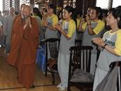 如歌如画生活禅 溯源柏林禅寺禅文化夏令营