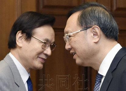 中日首开高级别政治对话 杨洁篪当场质疑安保法