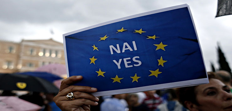 希腊为留欧失自由 欧洲为希腊闹分裂