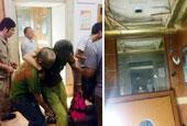 瀋陽一大廈電梯從27層墜到1層 12人傷
