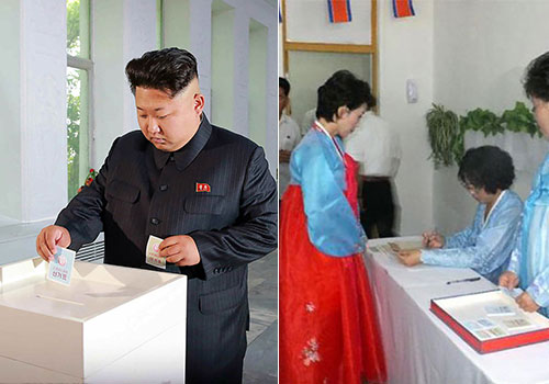朝鲜选举议员 金正恩执政后首次