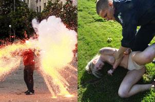 体育圈的那些抗议者:女爱裸男爱斗