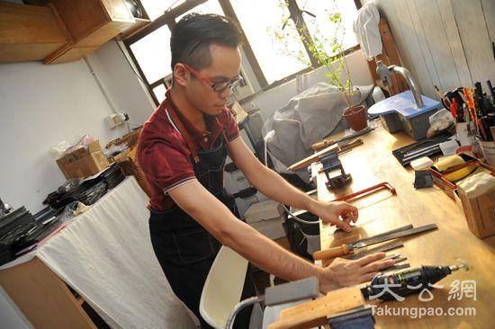 手造眼鏡工場創辦人劉堅迪成框之路樂滿途 | 大公報