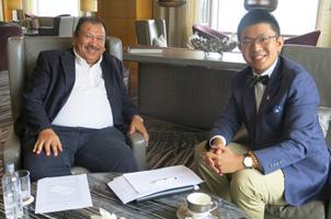 马奥委会主席接受大公特派记者专访