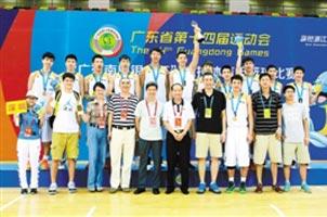男篮决赛:深圳横扫东莞夺冠