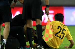 两国脚伤退恒大1-0绿城 斯帅赛后发难足协