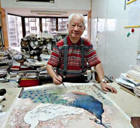 從藝76年畫風不拘一格 黎明畫展呈160幅作品