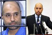 卡扎菲儿子被判死刑