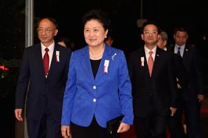 刘延东率北京申冬奥代表团出席开幕式