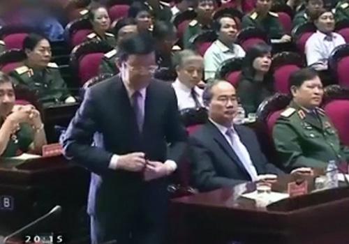 越南國家主席講話時響起中國歌曲 中國間諜操盤?