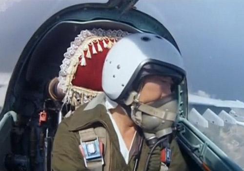 朝鲜飞行员自拍画面首曝光