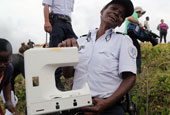 """疑似马航MH370飞机""""窗户""""被发现"""