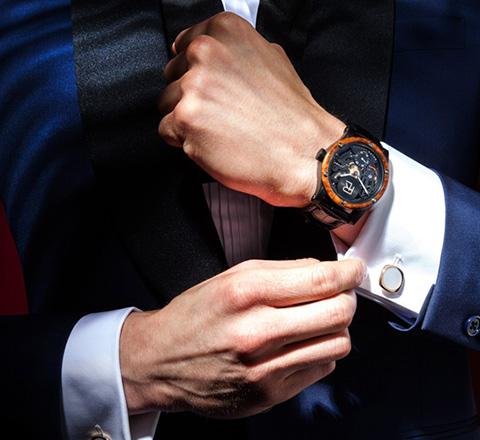 聊聊紳士都愛什麼腕錶 展現魅力就靠它