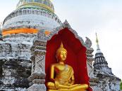 实拍《泰囧》中寻找的那座清迈寺庙
