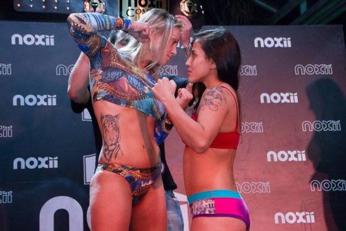 女拳手怀孕12周夺格斗冠军