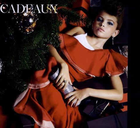 14岁模特40岁气场 曾引起时尚圈震荡的童模长大了