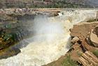 黄河壶口瀑布现特大瀑布群 迎来最佳观赏期