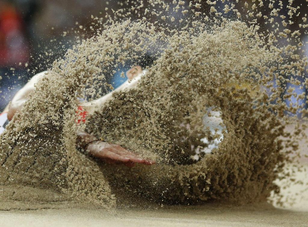 北京田径世锦赛十佳摄影