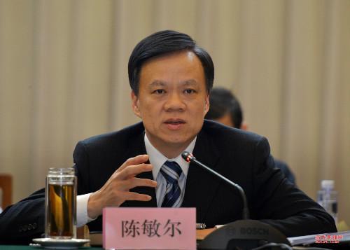 上月1日,前贵州省委书记赵克志调到河北,陈敏尔贵州省委书记,贵州省长