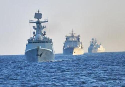 美國防部稱5艘中國海軍艦艇出現在阿拉斯加