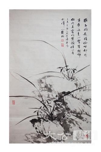 当笔者问及孟宪义,其手绘釉下彩瓷艺术作品将中国水墨画神韵很好
