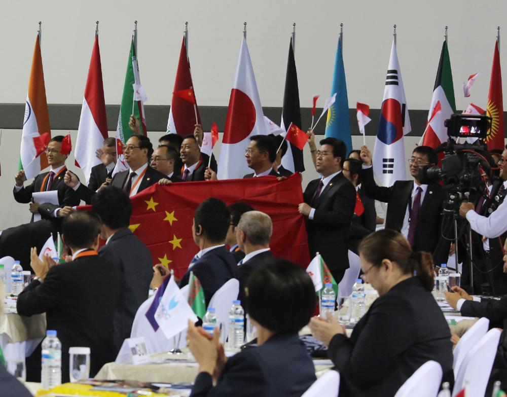 杭州获2022年亚运会主办权