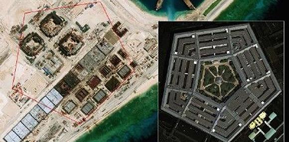 中國南海造島美未敢擅闖 外交部誡美勿挑釁冒險