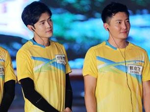 《中韩梦之队》周六开播 付辛博变运动健儿暴雨中迎战