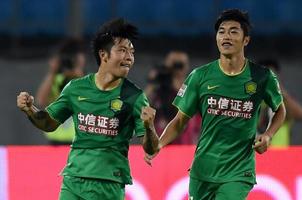 张稀哲回归首进球 国安1-0舜天