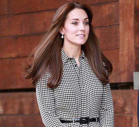 凯特王妃换发型着万元裙 从高定到快时尚全hold住