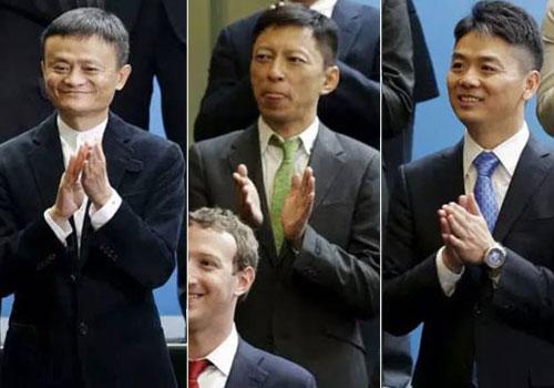 马云、张朝阳、刘强东们,你们能不能把西装穿好?