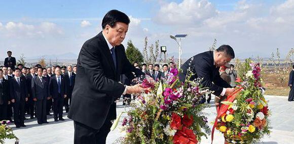 媒体:刘云山访朝 哪两场活动引人深思?