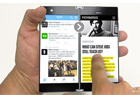 奇葩双屏手机 屏幕可一秒翻倍变平板