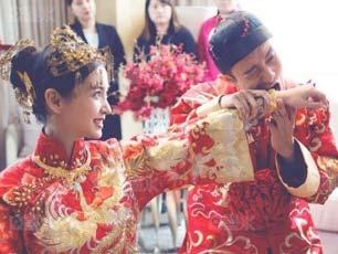 黃曉明baby婚禮海量私密照曝光 兄弟團搶親玩得不亦樂乎