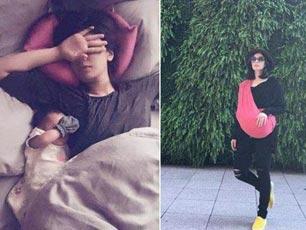 賈靜雯曬女兒把孩子包得密不透風 網友表示失望