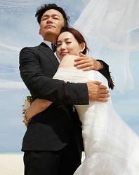 王宝强晒与美艳娇妻婚纱照 让人惊觉竟然这么帅