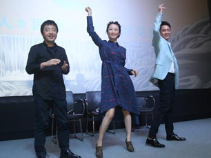 《山河故人》遭狂熱示愛 趙濤現場領舞大學生