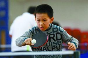 乒协副主席:国球正失去青少年关注 球迷中老年化