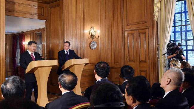 外媒:中英搅动大国格局 削弱西方联盟