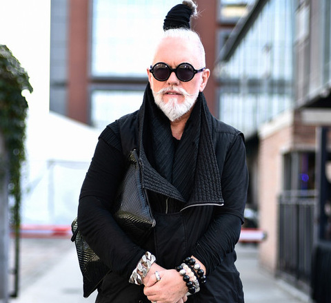 街拍最潮騷 時裝週上的男人比女人還會凹造型博眼球
