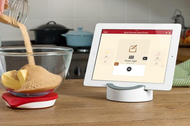 Scale智能厨房秤新功能:可用来调制鸡尾酒