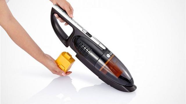 LG手持无绳吸尘器体验 可拆卸设计续航加倍