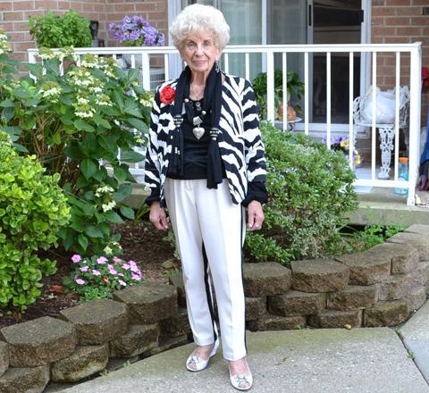 説到美 你還比不過隔壁這個92歲的老奶奶
