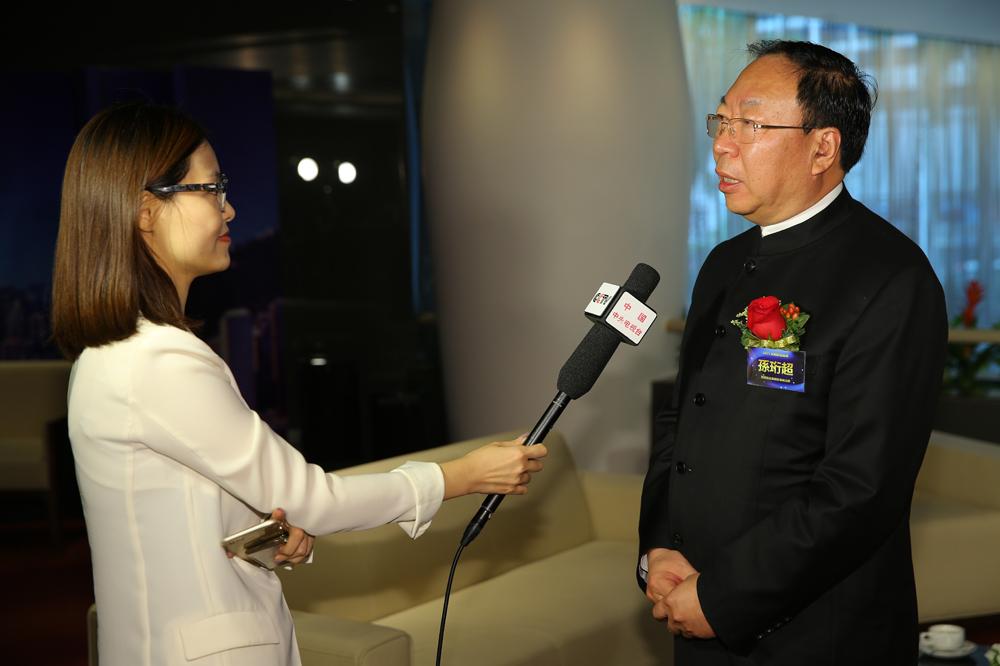 嘉宾云集 宝塔石化董事长孙珩超接受央视采访