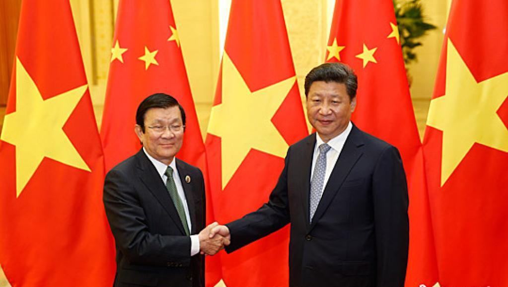 习近平访越修补双方南海争议 越南将以红毯盛宴相迎