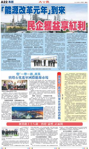 2015央视财经论坛大公报11月4日版面