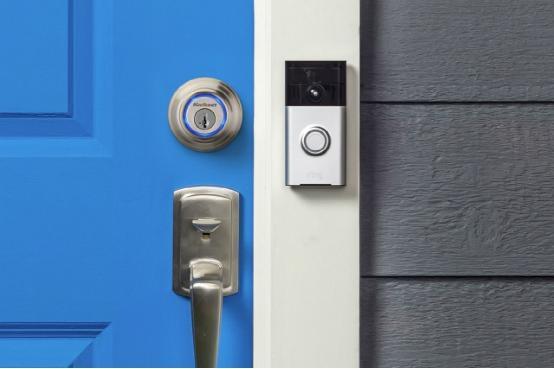 智能门锁和门铃这样配合使用能看清门外一切