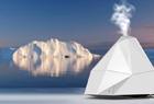 冰山造型的创意加湿器带来清爽体验
