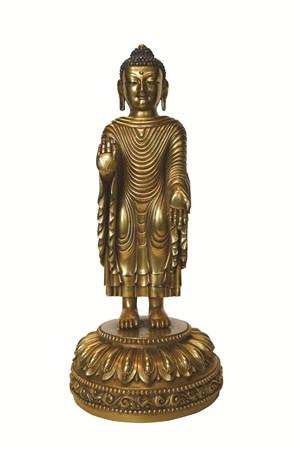 佛教五叶莲花手绘图片