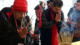 2015国际木火节举行入窑仪式